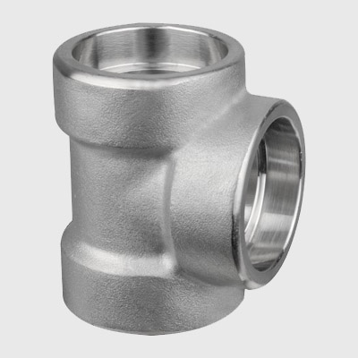 Stainless Steel Socket Weld Tee